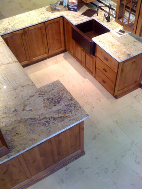 Tuscan Troweled Concrete Overlay Stained Epoxy